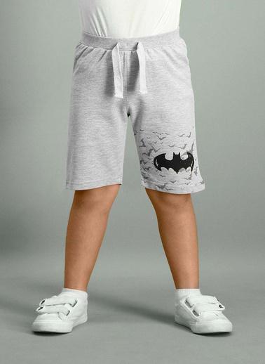 Batman Batman Lisanslı Grimelanj Erkek Çocuk Bermuda Gri